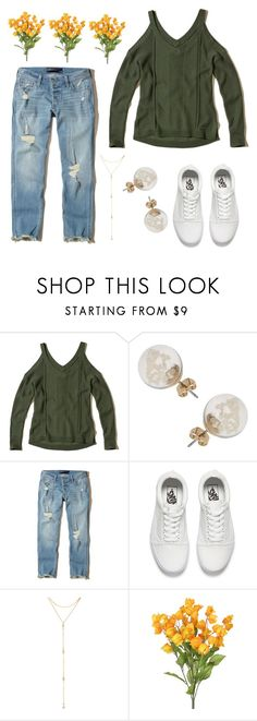 """""""First Day Of Spring!"""" by hey-im-macie ❤ liked on Polyvore featuring Hollister Co., Miss Selfridge, Vans and Fragments"""
