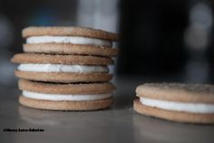 Eggnog Sandwich Cookies