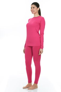 e5871a8e Buy women's insulated thermal wear set online from Thermajane. Our thermal  legging & shirt sets are fleece lined made of ultrasoft polyester & spandex.