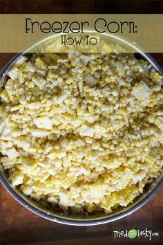 Freezer Corn: How To // TriedandTasty