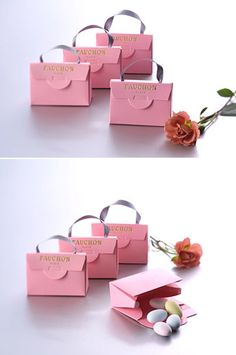 Package Diy Crafts For Home diy craft home projects Fashion Packaging, Luxury Packaging, Pretty Packaging, Jewelry Packaging, Gift Packaging, Paper Bag Design, Chocolate Packaging, Packaging Design Inspiration, Gifts