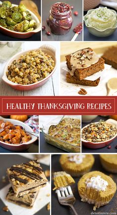 There are a lot of recipes that look real good! Healthy & Gluten-Free Thanksgiving Recipes « Detoxinista
