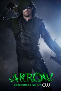 """Arrow"" Faces Front With New Poster Heralding Oliver Queen's Return - Comic Book Resources"