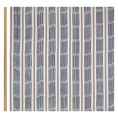 Buy John Lewis Woven Ikat Stripe Fabric, Indian Blue Online at johnlewis.com