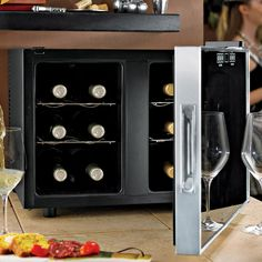 This is high-tech for wine enthusiasts.