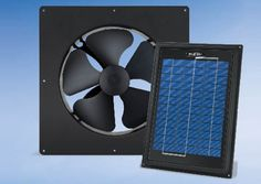 Solar Star's Solar-Powered Attic Fan