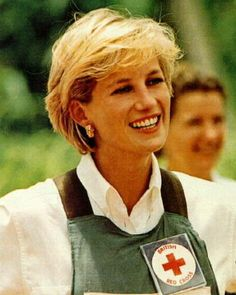 humanitarian: Princess Diana was the first British Royal who went into the field to bring awareness to tragedies caused by landmines. Something that was frowned upon by other senior royals and advisors.