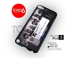 AJ 4054 Real Band 5 SOS One Direction - iPod 5 Case | toko6 - Accessories on ArtFire