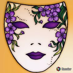 Fine Porcelain China Diane Japan Value Mask Painting, Fabric Painting, Stone Painting, Ceramic Mask, African Art Paintings, Owl Tattoo Design, Rock Painting Ideas Easy, Sugar Skull Art, Carnival Masks