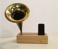 Acoustic  iPhone Speaker Dock w/ Antique style by ReAcoustic, $247.00