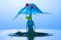 Water Sculptures by Juan Pablo Gaviria, via Behance
