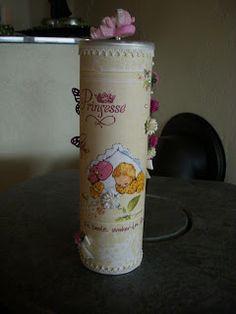 Pringlesboks til ei lita prinsesse Pillar Candles, Candles
