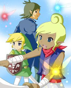 Linebeck, Link, and Tetra