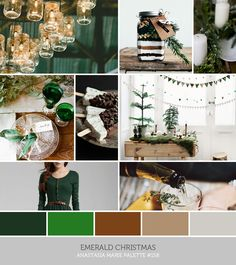 emerald christmas // anastasia marie palette
