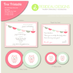 Free party printables...