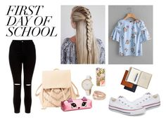 """FIRST DAY OF SCHOOL"" by minchy-269 ❤ liked on Polyvore featuring New Look, Converse, Charlotte Russe, Casetify, Tory Burch, Mark & Graham, BackToSchool, polyvoreeditorial and polyvorecontest"