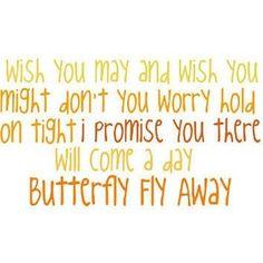 butterfly fly away miley cyrus lyrics - Google Search