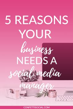 Are you struggling to keep up with the ever changing algorithms of social media? If so, then you may need a social media manager. Check out this post and find out the benefits of outsourcing today.   social media tips   social media manager   social media strategy   social media   outsourcing   freelancer
