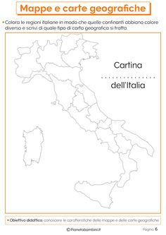 Mappe e Carte Geografiche: Schede Didattiche per la Scuola Primaria | PianetaBambini.it Pre And Post, Earth Science, Activities For Kids, Education, Coding, 3, Homeschooling, Studio, Google