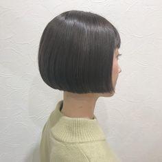 バームでタイトに仕上げるミニマムボブが好き♡ . . こだわりはレザーとシザーで仕上げること✂︎ . . #shooting #portrait #ポートレート#camera #hairstyle #hairmake #撮影 #作品撮り #fashion #hairarrange #kyoto #hairsalon #京都美容室 #jour #bob #ミニボブ #ボブ
