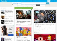 Mashable.com :The Most Influential Startup Business Blog on the Web | Startups Pro, Inc
