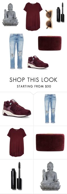 """""""Please"""" by her-aesthetic on Polyvore featuring New Balance, Current/Elliott, Vince, Kayu, Bobbi Brown Cosmetics, Universal Lighting and Decor and Quay"""