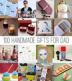 DIY Father's Day: 100 handmade gifts for dad Christmas Gift For Dad, Handmade Christmas Gifts, Christmas Diy, Homemade Christmas, Craft Gifts, Diy Gifts, Diy Originales, Father's Day Diy, Dad Day