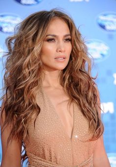 J lo hair color american idol