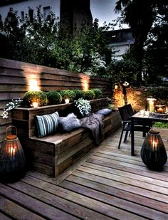 Backyard Seating, Garden Seating, Backyard Patio, Backyard Landscaping, Landscaping Ideas, Patio Ideas, Backyard Ideas, Outdoor Seating, Florida Landscaping