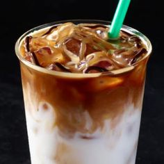 Iced Coconut Milk Mocha Macchiato | Starbucks Coffee Company     Chilled Sumatran coconut milk, a hint of white chocolate mocha, and Espresso Roast topped with caramel drizzle and a swirl of mocha