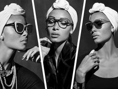9ff9c85d7f39 Adwoa Aboah Channels Coco Chanel for the Brand s New Eyewear Campaign