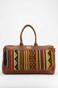 Will Leather Goods Oaxacan Duffel Bag - Urban Outfitters Pebbled Leather, Leather Bag, Carpet Bag, Duffel Bag, Bag Making, Travel Bags, Purses And Bags, Urban Outfitters, Fashion Accessories