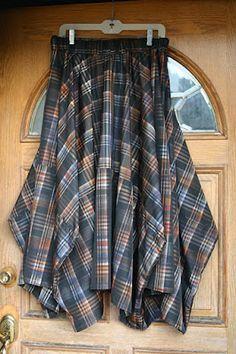 Tablecloth Skirt tutorial. SAIA QUADRADA COM VOLUME