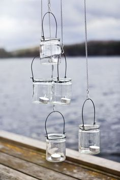 Lanterns for tealights