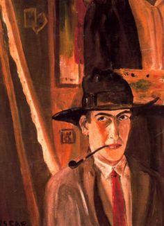 Autorretrato, 1926 - Óscar Domínguez