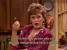 "You're not afraid to try new things. | 23 Signs You Might Be Blanche Devereaux From ""The Golden Girls"""