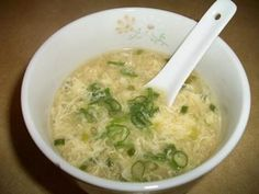 Easy egg drop soup recipe -- love this stuff