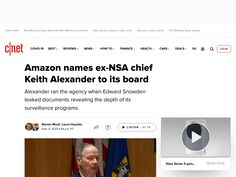 Amazon names ex-NSA chief Keith Alexander to its board