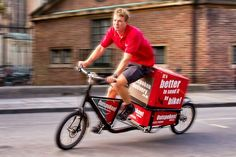 Outspoken Delivery cargo cycle courier