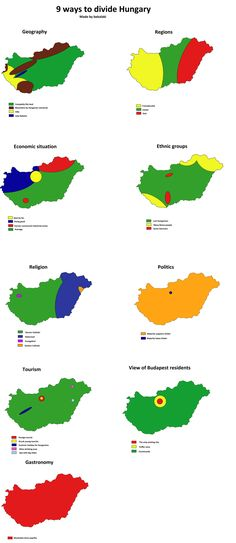 9 Ways to Divide Hungary
