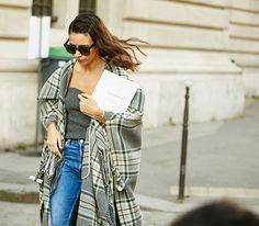 Неделя моды в Париже, весна-лето 2016: street style. Часть 1 (фото 23)