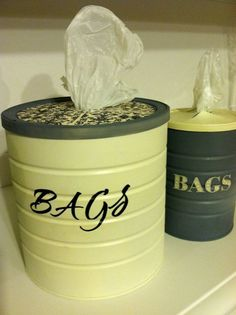 Kitchen Bag Holder--what a cool idea!!!! (Cool Easy Ideas)