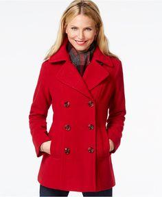 Columbia Charcoal Heather Benton Pea Coat | Products