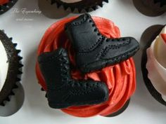 Boots on the cupcake?