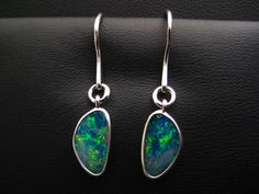 Classic drop - Opal doublet