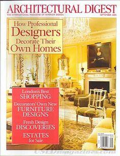 Architectural Digest September 2005