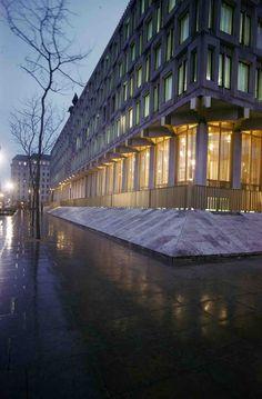 Eero Saarinen, US Embassy in London, 1960