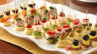 mini appetizers!