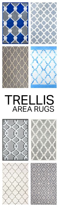 Rugs USA Labor Day Sale up to 80% Off! Area rug, rug, carpet, design, style, home decor, interior design, pattern, trends, home, statement, fall, autumn, cozy, sale, discount, interiors, house, free shipping, trellis, neutral.