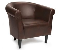 Serta Perfect Sleeper Davis Eurotop Premium Quality Full Mattress Chestnut Brown Tub Chair at Big Lots.